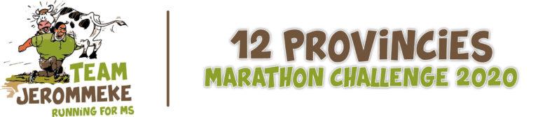 12 provincies marathon challenge
